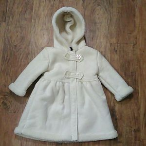 Calvin Klein Jeans Coat with Hood Size: 2T